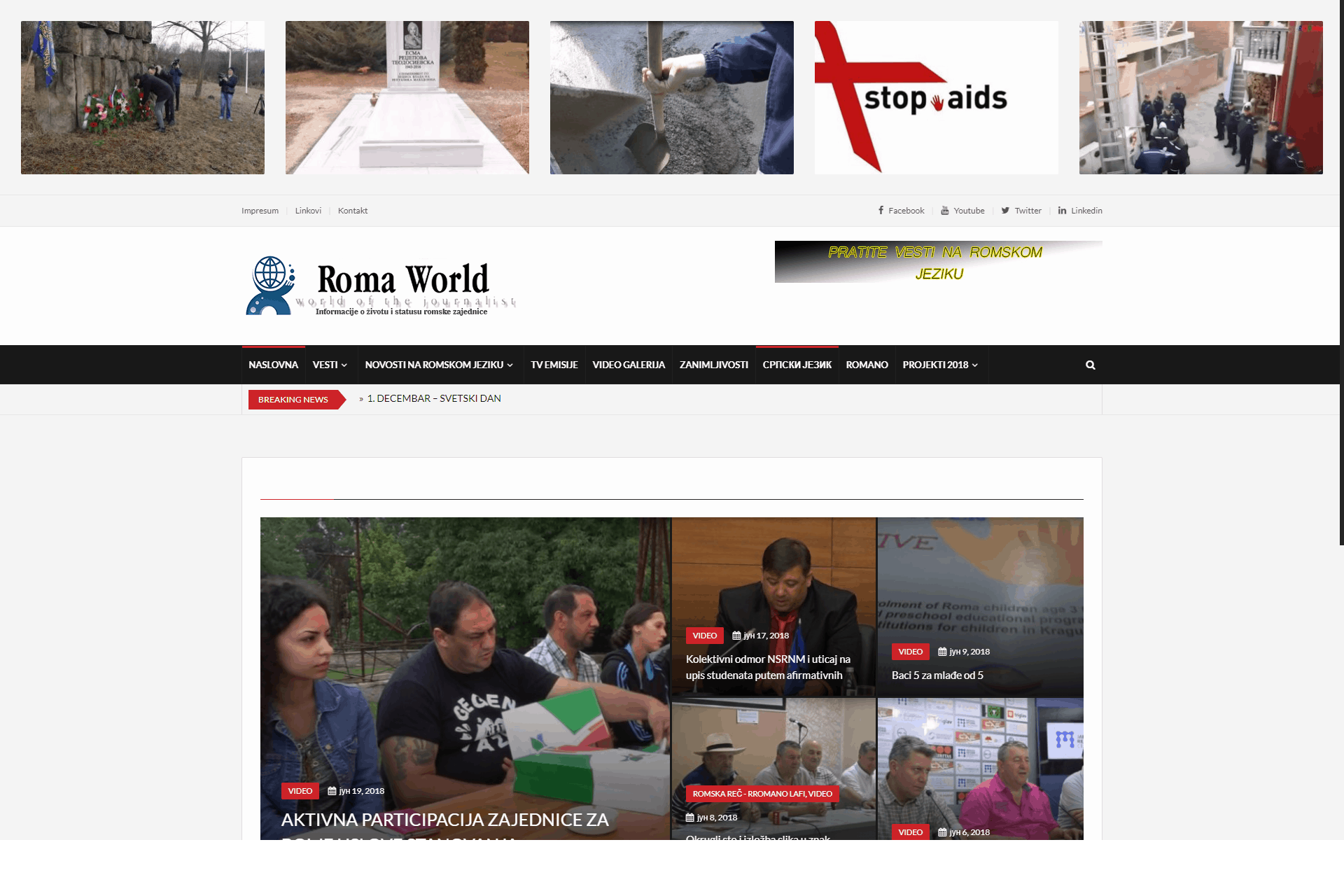 The story of the Roma World portal - Media Daily