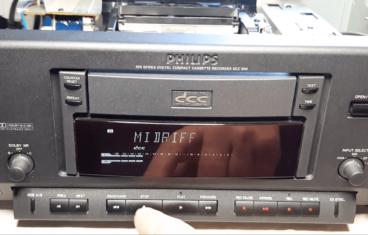 Philips DCC 900, Sony's MiniDisc, how to fix Philips DCC 900 recorder, kako popraviti
