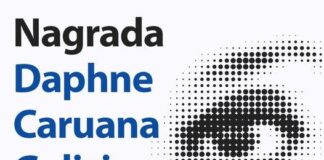 Nagrada Daphne Galizia, novinarstvo,Daphne Caruana Galizia Award, Anthony Bellanger, European Parliament, David Sassoli, Forbidden Stories,